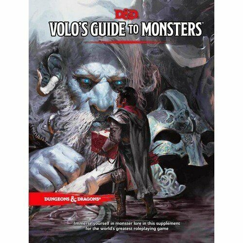 D&d Next de Vuelo Guide a Monsters (Dungeons&Dragons) - New, English