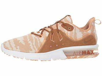 Mens Nike Air Max Sequent 3 PRM Running Shoes Brown Tan Camo Cream AR0251 200 | eBay