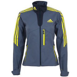adidas Damen Softshell Jacke Outdoor DSV Langlauf Biathlon Running Wintersport