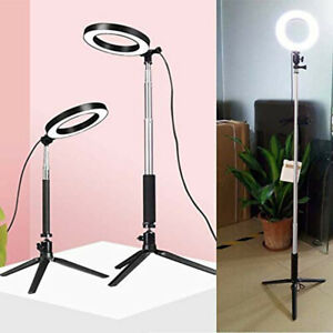 LED-Dimmable-Studio-Camera-Ring-Light-Photo-Phone-Video-Fill-Lamp-Stand-Tripod