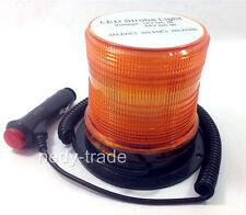 48 LED Luce Flash Magnetico Stroboscopici Allarme Girevole Faro Lampada