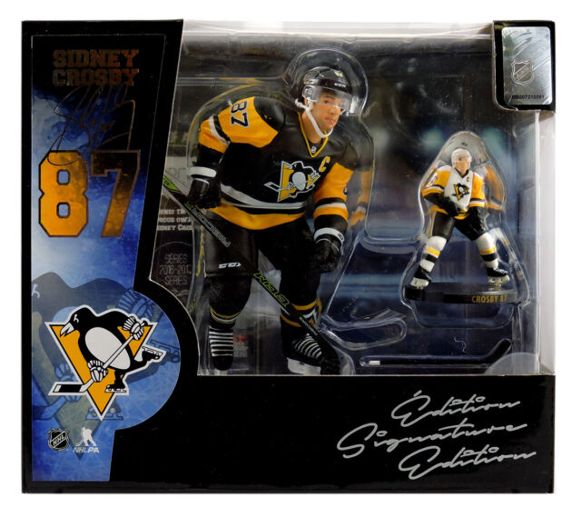 """NHL Imports Dragon 6/"""" SIDNEY CROSBY Pittsburgh Penguins 2015 Figure NEW"""