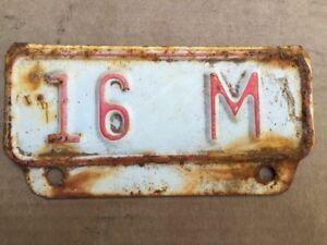 Vintage-Kansas-License-Plate-Topper-16M-Truck-Ford-Dodge-Chevy-International-2