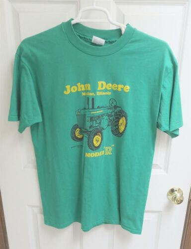 "John Deere Model ""R"" Tractor Green T Shirt XLarge"