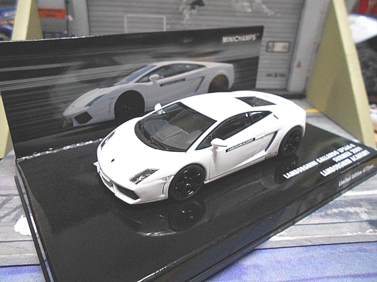 Lamborghini Gallardo lp560-4 Summer 2009 blanc weiss Academy Minichamps SP 1 43