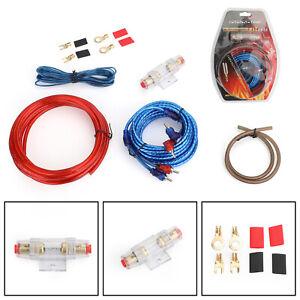 1500W-Cavo-Car-AMPLIFICATORE-Cablaggio-ad-anello-Kit-Amp-Audio-RCA-Wire-IT