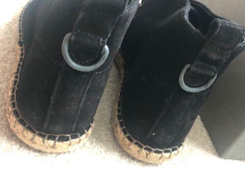"ALL SAINTS BLACK /""KERN/"" ESPADRILLE SHOES BOOTS NEW /& BOXED UK 7 8 9 10 11"