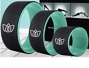 florensi yoga wheel 3pack back roller for muscle