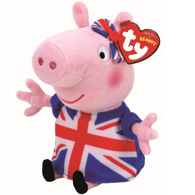 03a60f8ecc3 Ty Beanie Babies 41207 Peppa Pig Union Jack for sale online