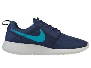Nike Men/'s Roshe One Running Shoes Deep Royal Blue//Game Royal//White 511881-425
