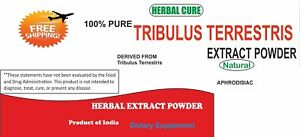 Details about Tribulus Terrestris 95% Saponins for libido, Testosterone  boost, muscle power