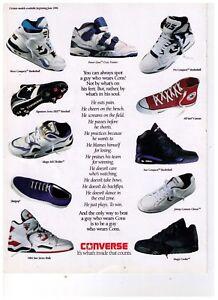 1991 Converse Larry Bird/Bernard King