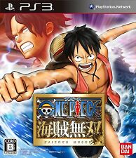 PS3 One Piece Kaizoku Musou Japan Import Official Free Shipping F/S