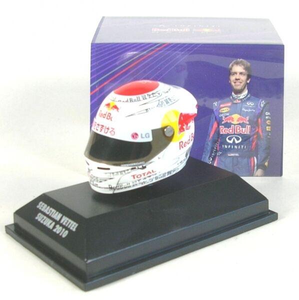 Casco Arai Sebastian Vettel GP Suzuka 2010 (CAMPEÓN MUNDIAL)