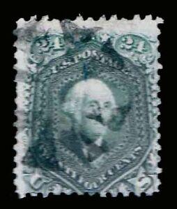 US-78-Used-24c-Regular-Issue-Bluish-Gray-Variety-Fine-CV-200-00-ESP-6357