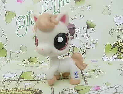 LITTLEST PET SHOP BUTTER CREAM Horse #1777