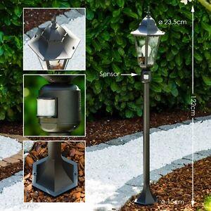 lampadaire lampe de jardin d tecteur luminaire ext rieur. Black Bedroom Furniture Sets. Home Design Ideas