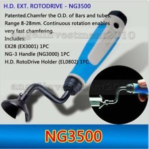 type EXT ROTODRIVE NG1700 chamfering of external shafts Deburring tools