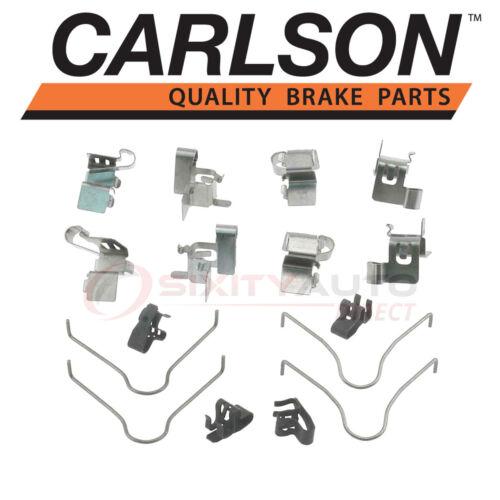 Pad cv Carlson Front Disc Brake Hardware Kit for 1990-1993 Toyota Celica