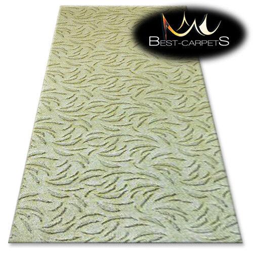 CHEAP & & & Qualité Tapis Ivano Vert Chambre Largeur 3 M 4 M 5 m Grand Tapis toute taille | Digne  47551d