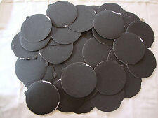 """5"""" Inch 50 Sandpaper Disks 80 Grit Peel and Stick Adhesive Abrasive Sand Paper"""