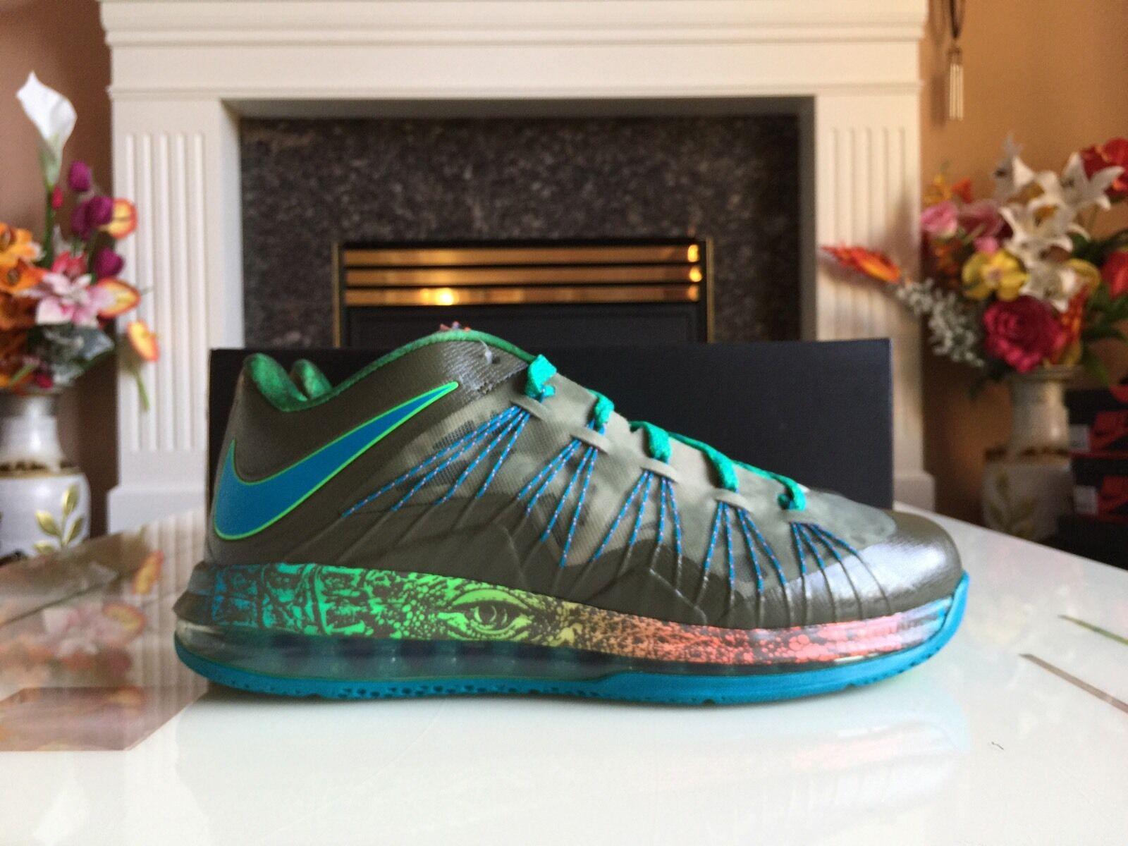 Nike LeBron x 10 bajo la cosa del pantano pantano pantano reptil comodo el modelo mas vendido de la marca 84a26b