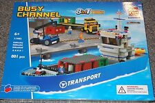 Busy Channel 8 in 1 BricTek Building Block Construction Toy Ship Brick