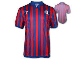 Macron Hajduk Split Auswärtstrikot 20 21 rot blau Hajduk Away Shirt Jersey S-3XL