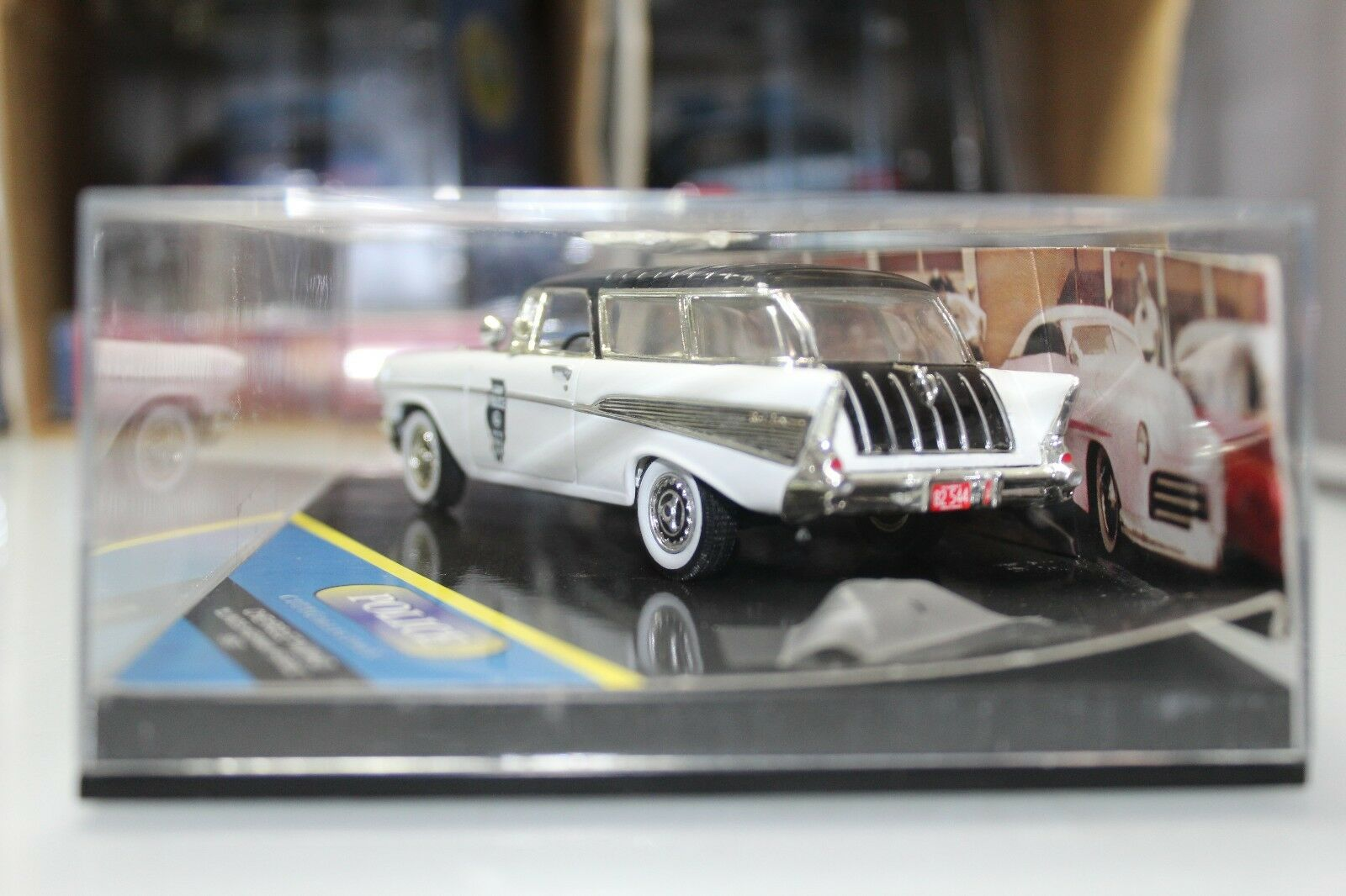 Vitesse 1 43 Scale Scale Scale City Collection Series 1957 CHEVROLET NOMAD ILLINOIS HIGHWAY 56c65e