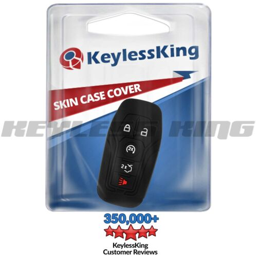 Fits Key Fob Cover 2016 2017 Ford Explorer Remote Case Skin M3N-A2C31243800