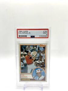 Cal Ripken Jr. 1983 Topps #163 PSA 9 MINT HOF Baltimore Orioles