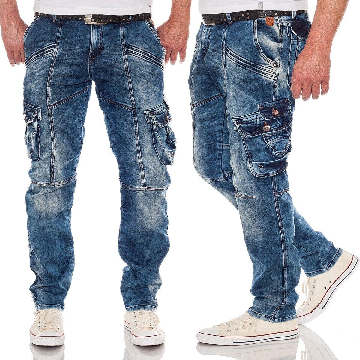 Cipo & Baxx Uomo Jeans Cargo cd383