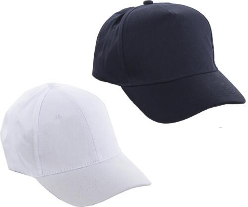 Baseball cap Plain Coloured Adjustable Back