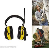Hearing Protector Mp3 Am Fm Radio Ear Muff Work Safety Noise Reduction Headphone