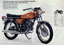 YAMAHA RD200 1973 PAINTWORK DECAL SET