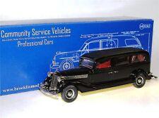 Brooklin CSV.18, 1934 Miller-Buick Funeral Coach, Hearse, Leichenwagen 1/43