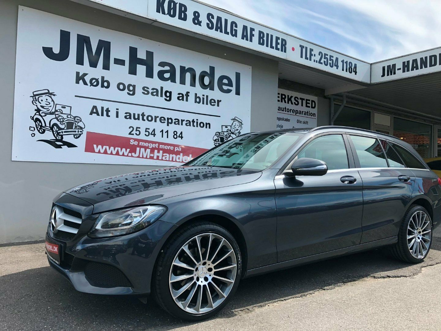 Mercedes C200 d 1,6 Business stc. 5d - 249.900 kr.