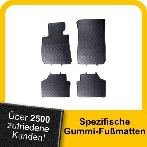 Für BMW 3er E92 ab 06 Gummimatten Fußmatten Original Qualität Kpl.