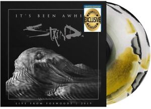 Staind - Live: It's Been Awhile Exclusive Limited Yellow Swirl Colored Vinyl LP