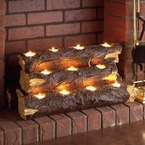 Image Is Loading Fireplace Candle Insert