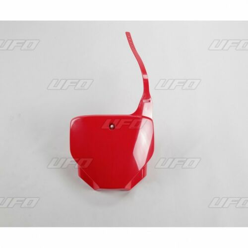 NEW UFO FRONT NUMBER PLATE PLASTIC HONDA 2007-2017 CRF230 CRF 230 CRF150 CRF 150