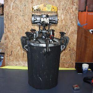 Details about BINKS L20 air motor SPRAY Paint glue Stirrer agitator ARNOLD  20L PRESSURE POT