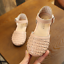 Cute Summer Kids Baby Girl Princess Sandals Weave Beach Shoes Size4.5-1.5 E319-1