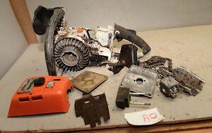 Stihl 041 Farm Boss Power Head Chainsaw Collectible Vintage Parts Saw Lot A0 Ebay