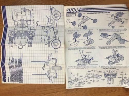 Original Blueprint GI Joe Cobra STUN Vehicle
