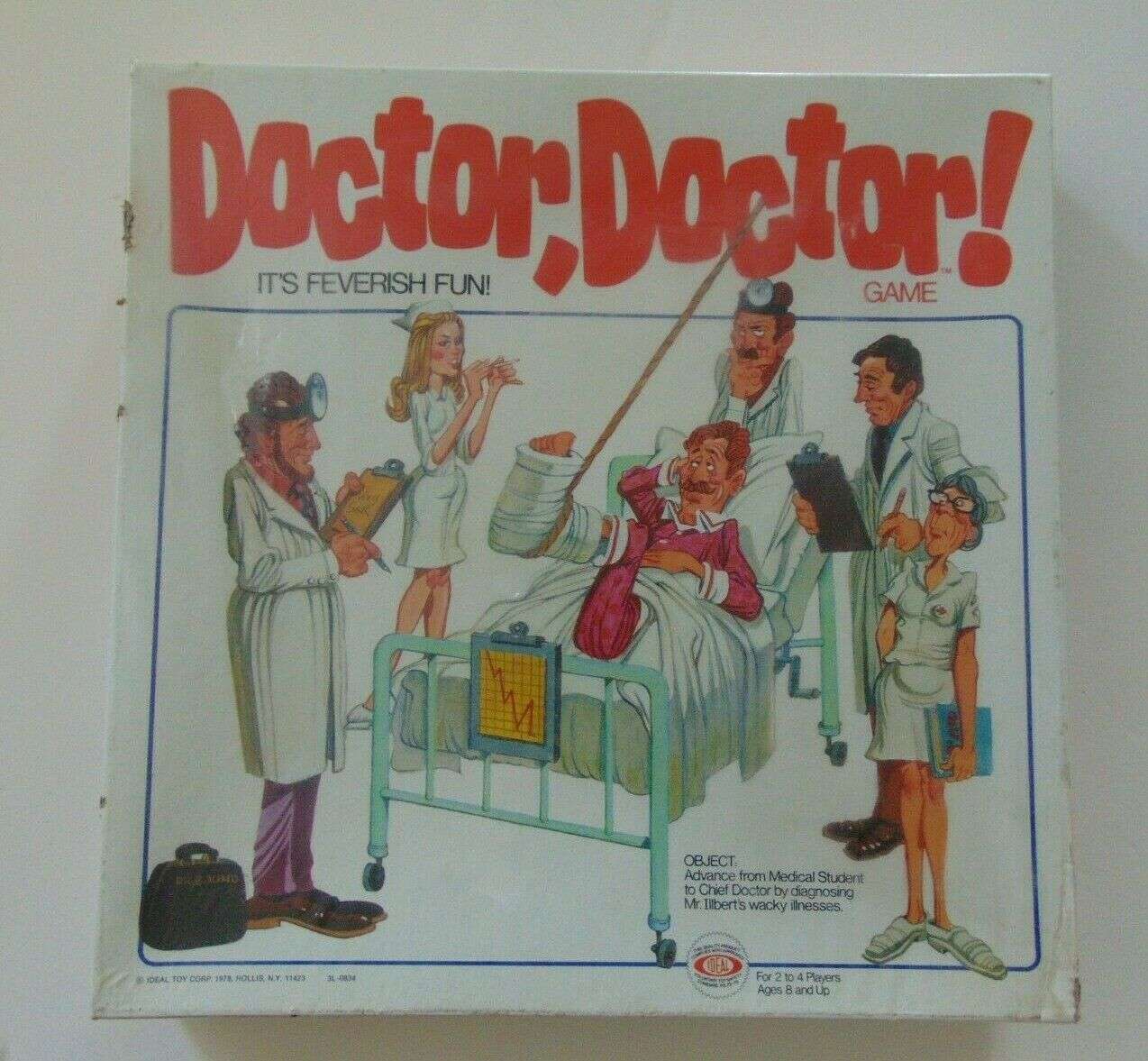 Docteur, Docteur  Jeu de Plateau-Idéal (1978) - Neuf Scellé