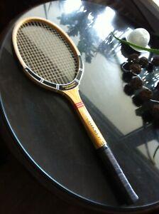 Dunlop-Maxply-Holz-Tennisschlager-Maxplay-Wood-Racket-L3-John-McEnroe