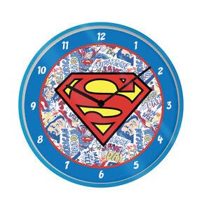 Boxed-Licensed-Clock-Gift-Superman-Licensed-85451