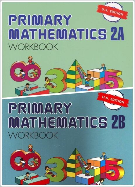 Primary Mathematics (2) Workbooks 2A and 2B US Edition - FREE Expedited Shipping