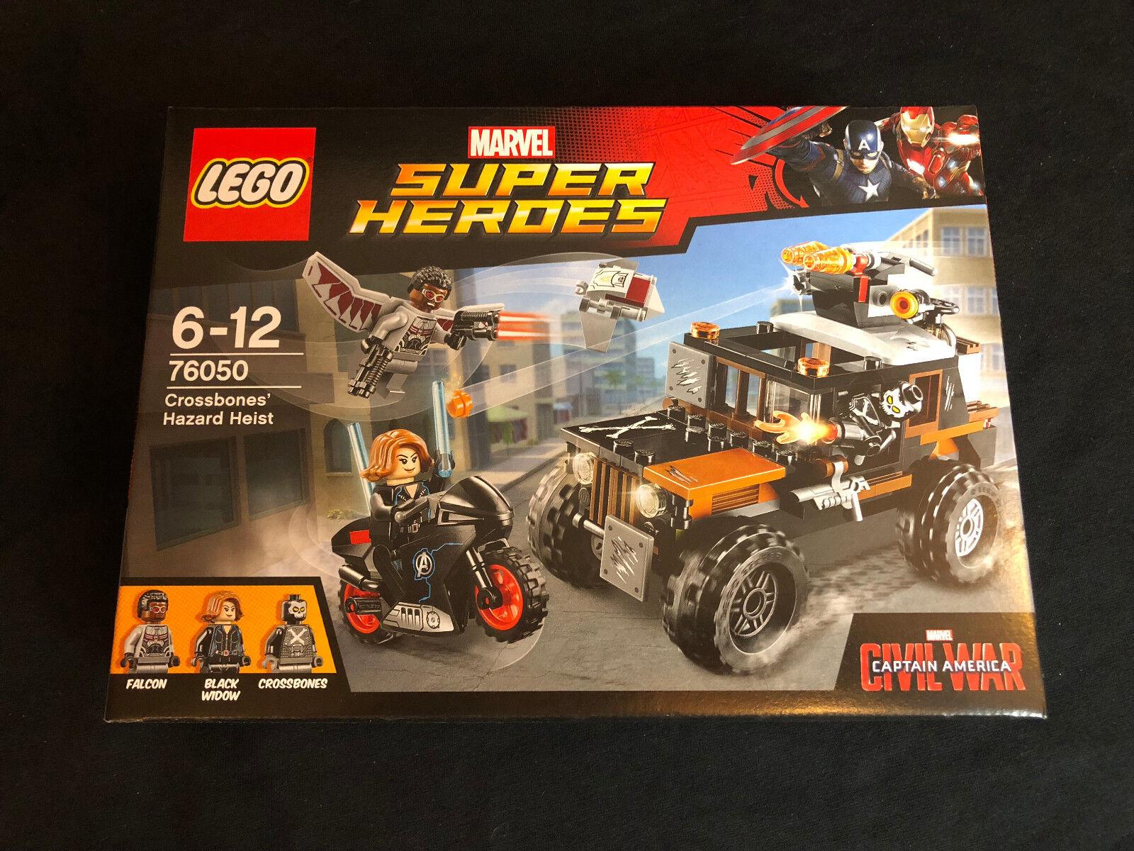 LEGO  ® 76050 MARVEL SUPER HEROES Crossbones pericolosi rapina NUOVO OVP nuovo MISB  vendite calde